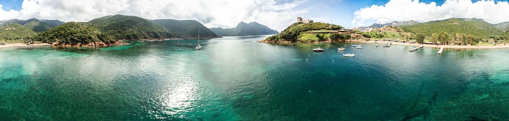 Girolata, Korsika